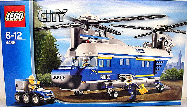 Marchen Store Lego City Police Helicopter Forest 4439 Rakuten