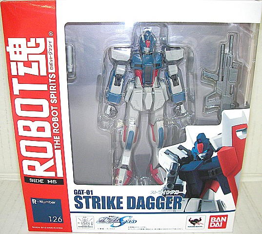 ROBOT soul - robot soul - <SIDE MS> Mobile Suit Gundam SEED strike dagger