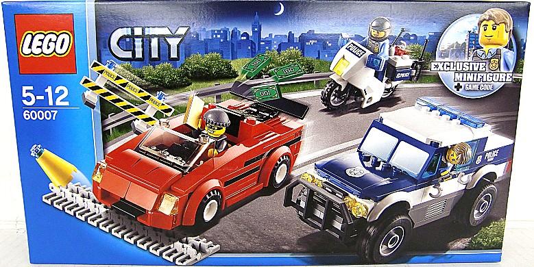 LEGO City Sports Car And A Police Patrol Car 60007