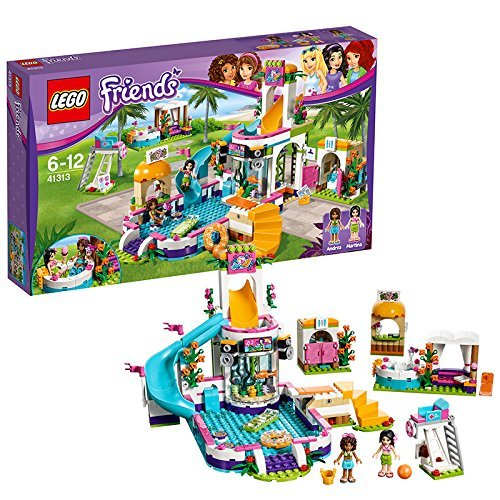 Lego(LEGO)朋友不安水公园41313