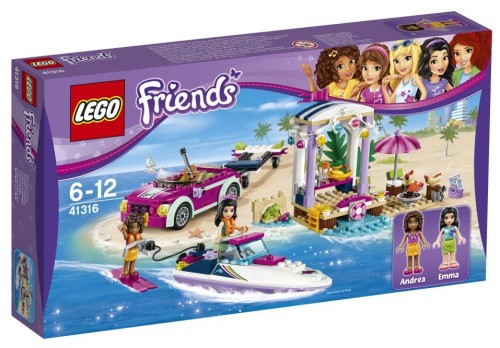 Marchen Store Beach Vacation 41316 Of The Lego Lego Friends Heart
