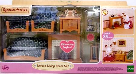 Sylvanian Families UK Deluxe Living Room Luxury Living Room Set