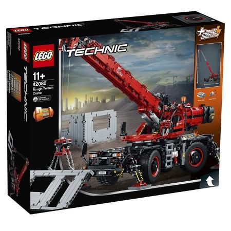 レゴ (LEGO) テクニック 全地形対応型クレーン 42082【あす楽対応】