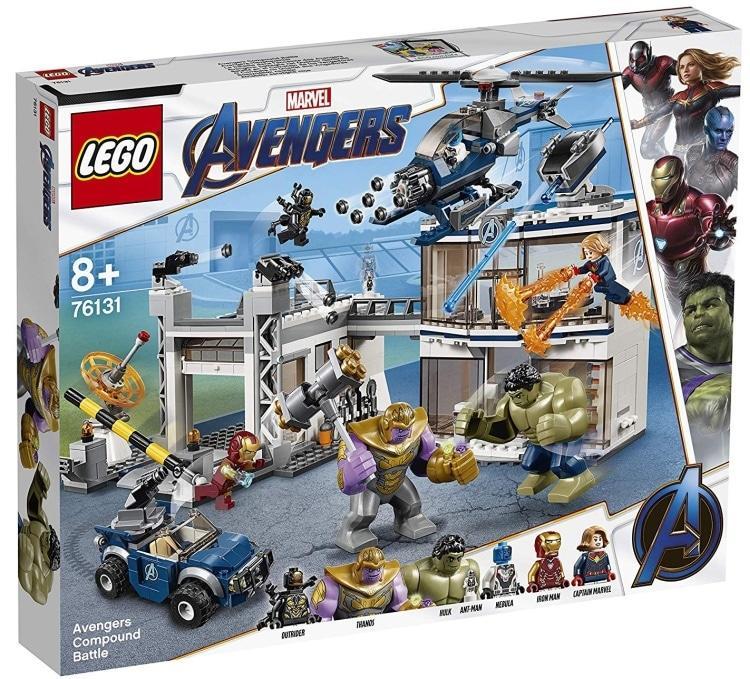 レゴ (LEGO) スーパー・ヒーローズ アベンジャーズ・コンパウンドでの戦い 76131【あす楽対応】