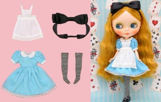 午前12時までのご注文は定休日以外当日発送 ネオブライス ドレス Dear Darling fashion dolls オールアリス for 売り込み あす楽対応 22cmドールサイズ お得