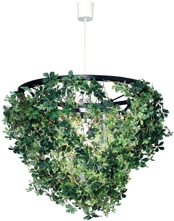 日々の暮らしをちょっとずつ癒してくれる【DI CLASSE(ディ クラッセ)】 ペンダントランプ Foresti pendant lamp 豊かなグリーン 電球型蛍光灯対応可 ★ミニフォレスティ ペンダントランプ【02P03Dec16】