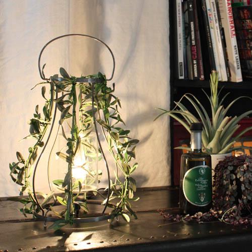 DI CLACCE【お洒落デザイン照明】グリーンがお洒落なデザイン照明 リビングやダイニング、寝室やワンルームにおしゃれな照明を。 アイアン リーフ ★アロマパティオ アイアン テーブルランプ(Aroma Patio Iron table lamp)【02P03Dec16】