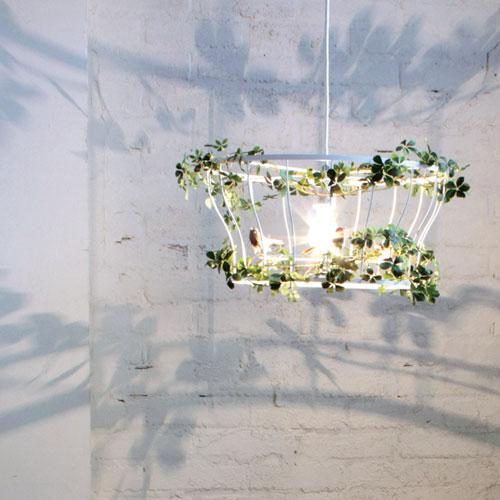 DI CLACCE【お洒落デザイン照明】グリーンがお洒落なデザイン照明 リビングやダイニング、寝室やワンルームにおしゃれな照明を。 デザインのランプ リーフ★フィッロ ペンダントランプ (Fillo pendantlamp )【02P03Dec16】