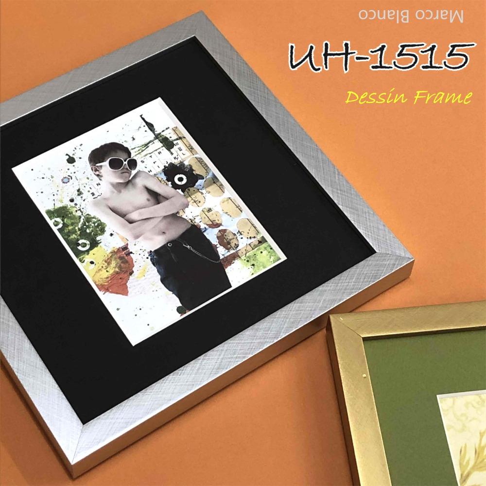ウェルカムボード 刺繍 クロスステッチボタニカルアート水彩 新発売 版画シルクスクリーン デジタルアート ポスターなど 20×20cm角 在庫限り スッキリしたカタチ から選べます UH-1515 2色 アクリル入り シルバー ゴールド マット紙と作品は附属されていません 贈呈
