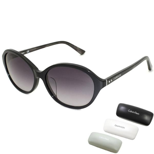 カルバンクライン サングラス Calvin Klein CK18521SA-001 cK UVカット メンズ レディース ブラック 信憑 アジアンフィット 完売 グレーグラデーション