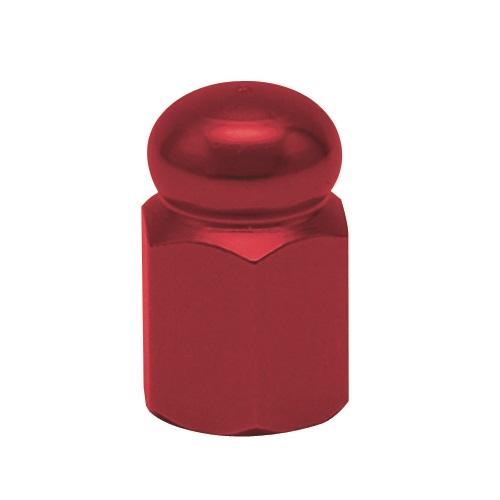 人気 おすすめ エアバルブキャップ 六角ドーム:レッド SALENEW大人気 2個セット