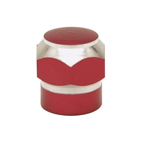 エアバルブキャップ 六角ツートン:レッド 正規店 激安通販 2個セット
