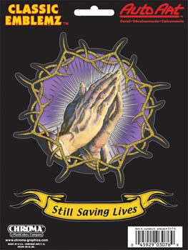 ステッカー 合掌 安い Praying Hands Gold スケートボード スケボー スマホ 手 タブレット ギター カーアクセサリー PC 楽器 アメリカン 3076 ブランド激安セール会場
