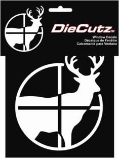 ステッカー 鹿 ファッション通販 Scoped Deer 3643 カーアクセサリー アメリカン 送料0円