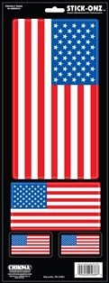 ステッカー 正規品 星条旗 卓越 大 American Flag Big アメリカ USA 5686 フラッグ 国旗 カーアクセサリー アメリカン