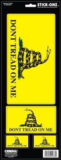 ステッカー 受賞店 スティックオンズ DTOM 大 Don't オリジナル Tread on カーアクセサリー Stick Me アメリカン 5688 Decal Onz