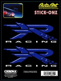 ステッカー スティックオンズ Rレーシング ブルー R Racing Blue 卓出 アメリカン Stick 激安 Decal Onz カーアクセサリー 8620