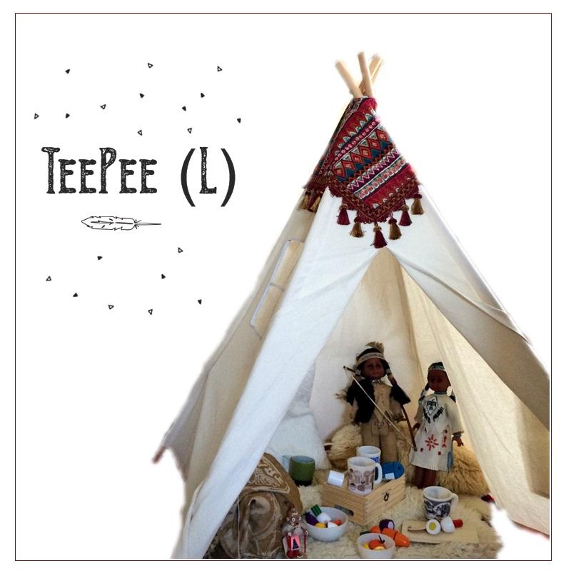 Tipi tent kids tent teepee tipi tarp c&s simple solid color L size  sc 1 st  Rakuten & marcs | Rakuten Global Market: Tipi tent kids tent teepee tipi ...
