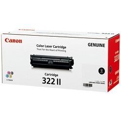キヤノン(Canon) CRG-322IIBLK トナーカートリッジ322II ブラック(大容量) 純正品 【送料無料】【回収無料】