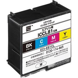 4色一体タイプ ICCL81 モバイルインク EPSON (エプソン) (業務用5セット) 【ポイント10倍】