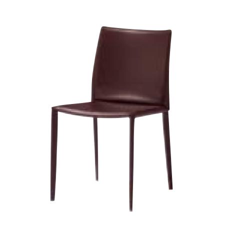 遠藤照明 家具 椅子 レザーチェア LINDA(ダークブラウン)チェア/チェアー/CHAIR/イス MBC0007BD AbitaStyle(アビタスタイル) /マルゲリータ