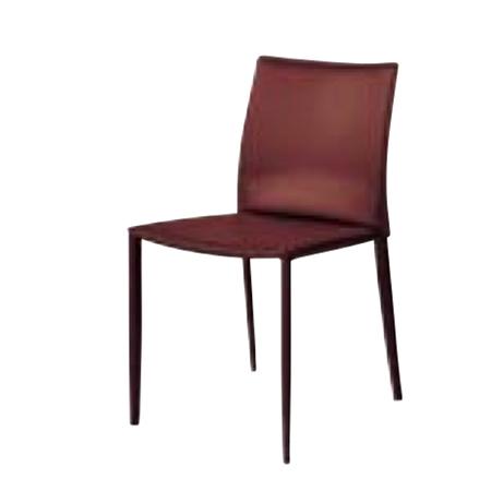 遠藤照明 家具 椅子 レザーチェア LINDA(ブラウン)チェア/チェアー/CHAIR/イス MBC0007BR AbitaStyle(アビタスタイル) /マルゲリータ