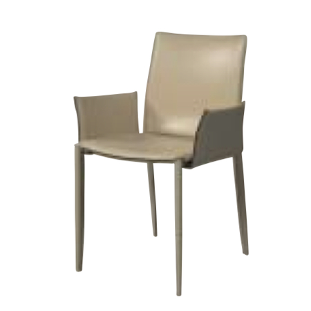 遠藤照明 家具 椅子 レザーチェア LINDA(サンドベージュ)チェア/チェアー/CHAIR/イス MBC0009SD AbitaStyle(アビタスタイル) /マルゲリータ