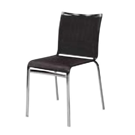 遠藤照明 家具 椅子 スチールチェア(ブラック)チェア/チェアー/CHAIR/イス MBC0014MBA AbitaStyle(アビタスタイル) /マルゲリータ