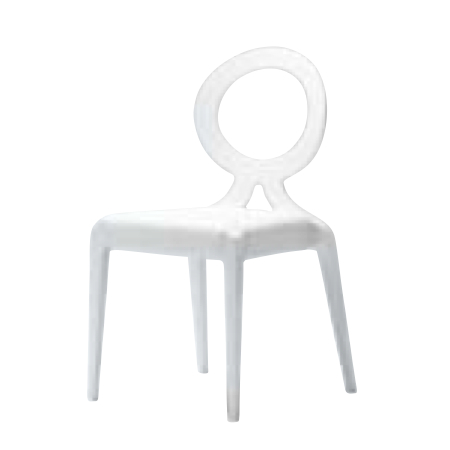 遠藤照明 家具 椅子 ウッドチェア CAMPANILE(ホワイト)チェア/チェアー/CHAIR/イス MUC0178WH AbitaStyle(アビタスタイル) /マルゲリータ