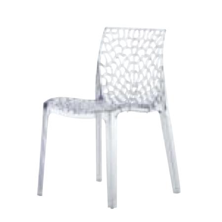遠藤照明 家具 椅子 プラスチックチェア GRUVY(クリア)チェア/チェアー/CHAIR/イス MYC0608CL AbitaStyle(アビタスタイル) /マルゲリータ