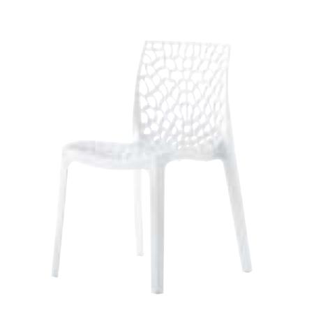 遠藤照明 家具 椅子 プラスチックチェア GRUVY(ホワイト)チェア/チェアー/CHAIR/イス MYC0608WH AbitaStyle(アビタスタイル) /マルゲリータ