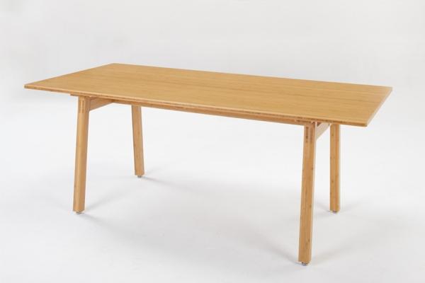 通常便なら送料無料 TEORI テオリ 美しい竹の家具 竹集成材のTEORI 割り引き スッキリ 広々としたテーブル テーブル テンション TENSION TABLE W1500
