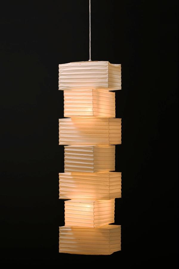 イサムノグチ akari イサム・ノグチ デザイナーズ照明 あかり アカリ ISAMU NOGUCHI 和紙照明 ペンダントライト 36N-PE2-16 / ロングペンダントタイプ(ペンダントランプ 吊り下げ式 照明器具)