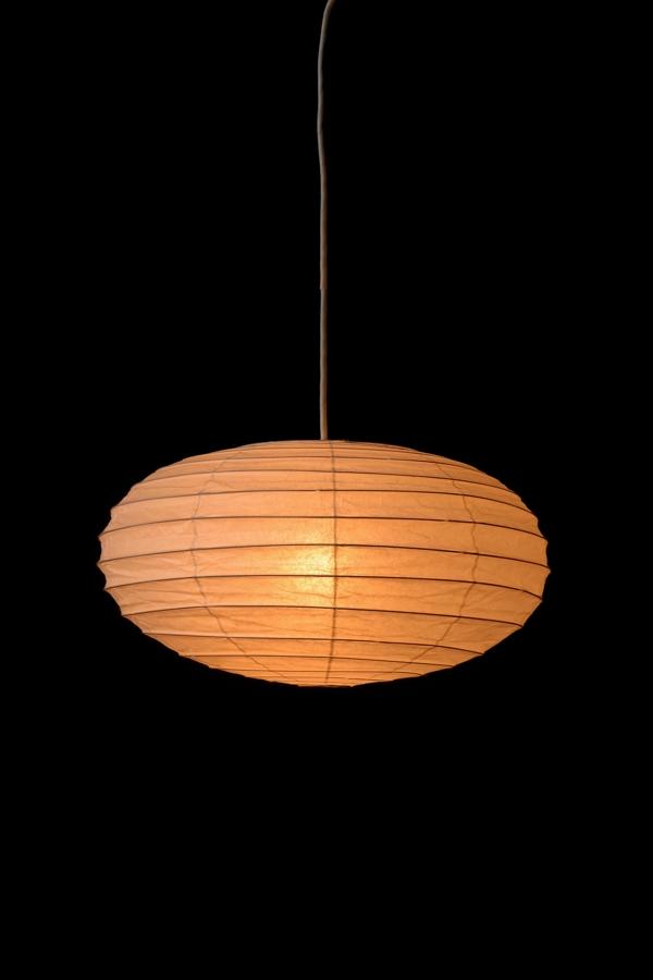 イサムノグチ akari イサム・ノグチ デザイナーズ照明 あかり アカリ ISAMU NOGUCHI 和紙照明 ペンダントライト 器具(コード300cm)付 50EN-CO30 / ペンダントタイプ(ランプシェード シェードランプ ペンダントライト 吊り下げ式 照明器具)