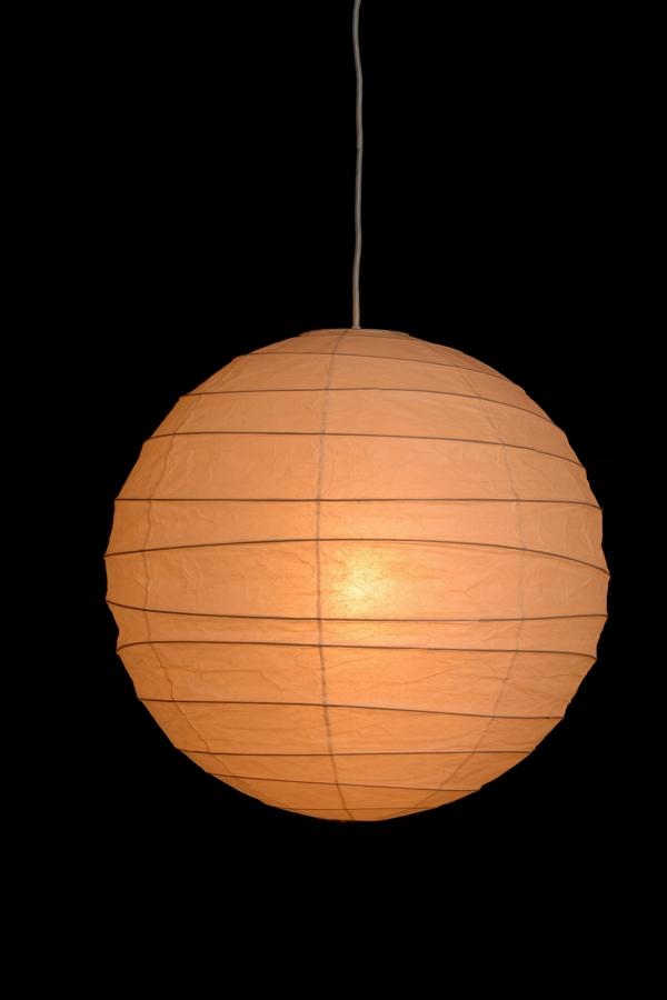 イサムノグチ akari イサム・ノグチ デザイナーズ照明 あかり アカリ ISAMU NOGUCHI 和紙照明 ペンダントライト 器具(コード300cm)付 55D-CO30 / ペンダントタイプ(ランプシェード シェードランプ ペンダントライト 吊り下げ式 照明器具)