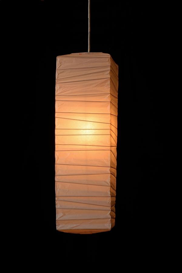 イサムノグチ akari イサム・ノグチ デザイナーズ照明 あかり アカリ ISAMU NOGUCHI 和紙照明 ペンダントライト 器具(コード105cm)付 70XL-CO10 / ペンダントタイプ(ランプシェード シェードランプ ペンダントライト 吊り下げ式 照明器具)