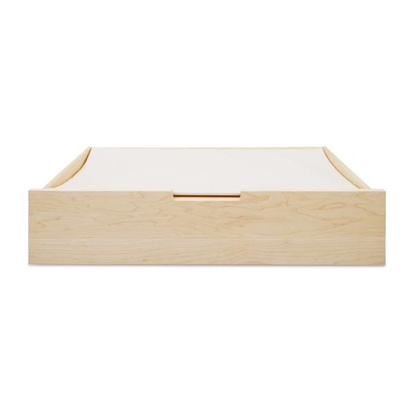 木と風 ベッド下収納ボックス キャスター付き メープル(衣類収納 引き出し収納 国産 日本製) /マルゲリータ