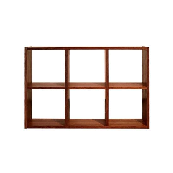 木と風 本棚 H680 ウォールナット(オープンシェルフ ブックシェルフ ディスプレイラック 国産 日本製) /マルゲリータ