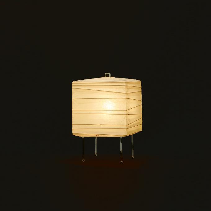 イサムノグチ AKARI あかり アカリ ISAMU NOGUCHI 和紙照明 スタンドライト 3X / スタンドタイプ ※40W形相当 LED電球付(テーブルライト テーブルスタンド テーブルランプ 照明器具)