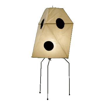 イサムノグチ AKARI あかり アカリ ISAMU NOGUCHI 和紙照明 スタンドライト UF3-Q / UFシリーズ ※40W形相当 LED電球付 スタンドタイプ(フロアーライト フロアースタンド フロアーランプ 照明器具)
