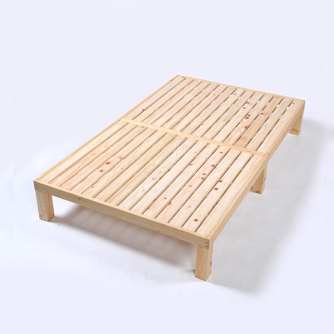 すのこベッド セミダブル すのこ スノコ すのこベッド国産 檜/ひのき/ヒノキ(ベッド スノコ シングル 簀子ベット 木製 ヘッドレス 日本製 国産 ホームカミング 送料無料)※ プラスチック 折りたたみ シングル ダブル ではありません。/NB01M-HKN /マルゲリータ