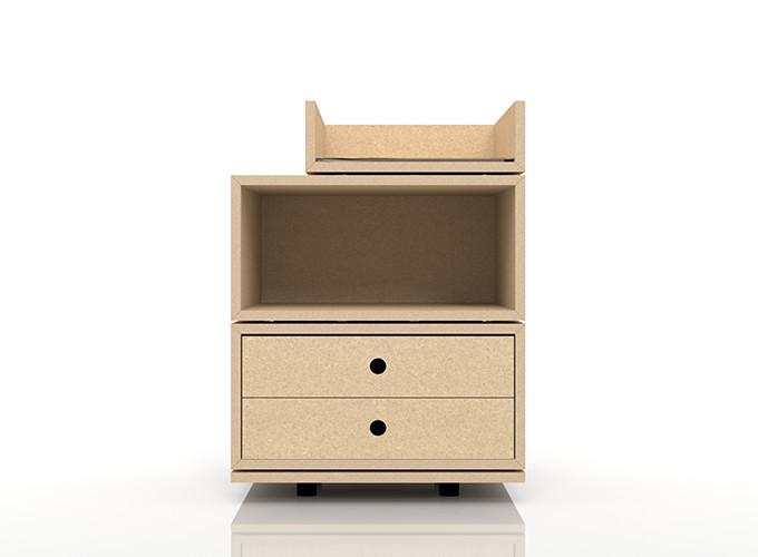 収納したいモノやお部屋のスペースに合わせて組み合わせ自由自在の収納ボックス A4書類の収納 BLC-DT×1 BLC-04A×1 BLC-04A-T4×1 奥行き深め:BLC組み合わせ例 新色追加 BLC-04-S×1 安全 マルゲリータ 卓上で使う収納