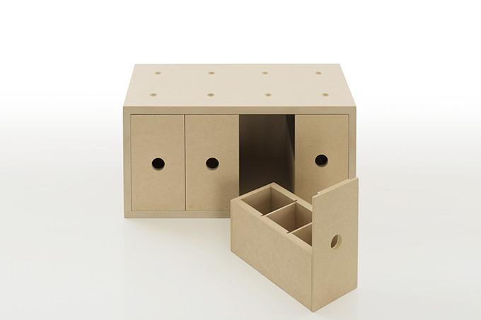 ... Glove Compartment Drawer Storage Box Wood (small Drawer Accessory  Storage Accessory Box Accessory Case Storage ...