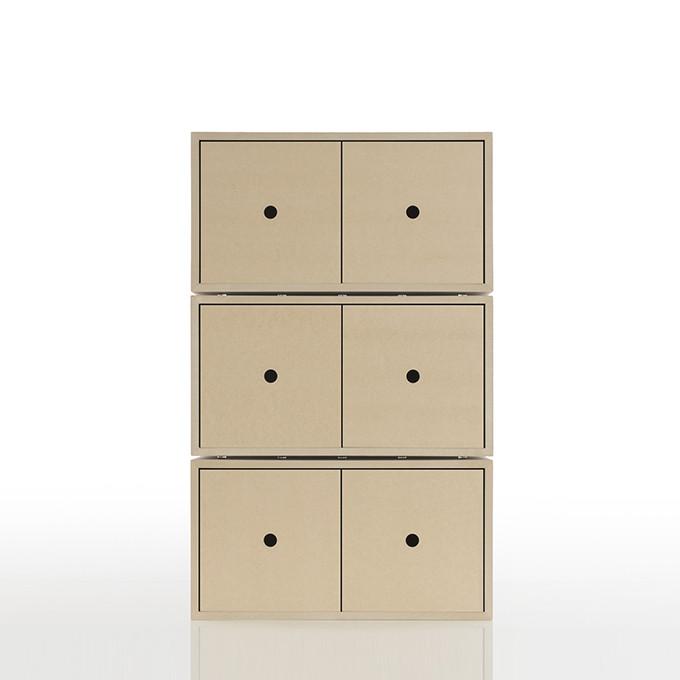 Margherita Vinyl Record Storage Drawer Storage Boxes Wood Ep