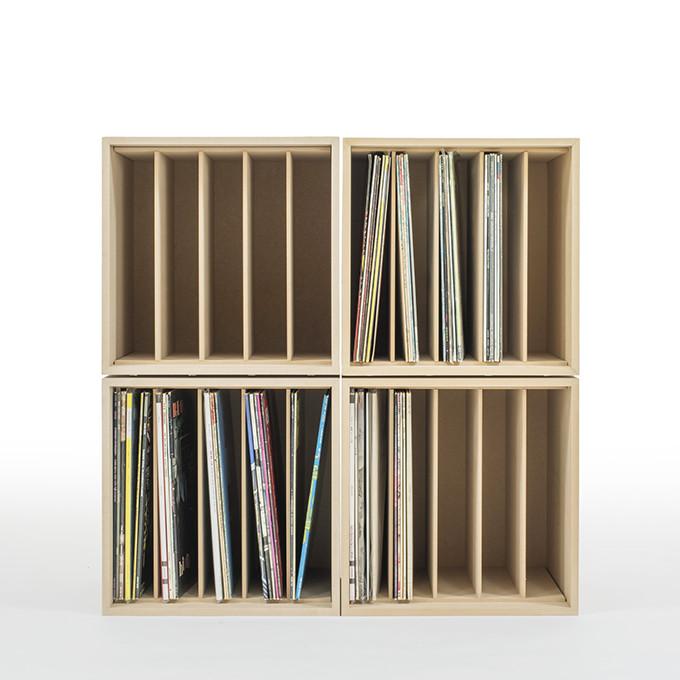 ... Storage Box Wooden Dividers Vinyl Record Storage ( LP Record 12 Inch  Records Shelves Records Storage
