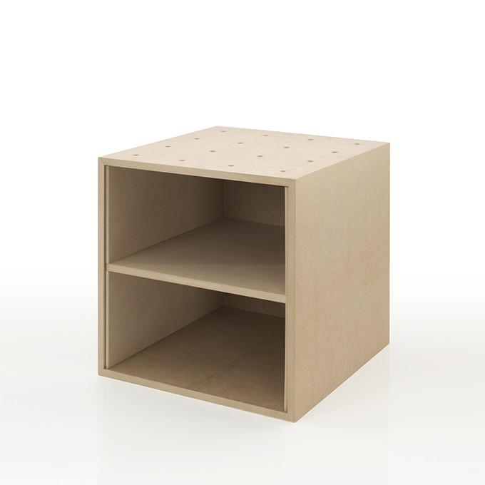 お見舞い A4書類 ファイル収納ボックス 平置き2段 木製 書類棚 期間限定特別価格 カラーボックス ストレージボックス キューブボックス スタッキング マルゲリータ キューブ ラック PCP BLC-08-G2 ボックス