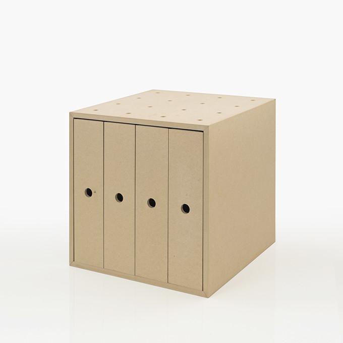 ファイルボックス 収納ボックス 木製(A4 ボックスファイル ファイルラック ファイル収納 ファイルケース 収納ケース 収納box 収納 ラック 収納箱 収納棚 カラーボックス ストレージボックス キューブボックス キューブ ボックス スタッキング ラック 大容量)BLC-08-V