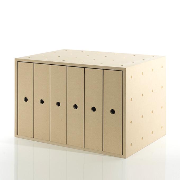 ファイルボックス 収納ボックス 木製(A4 ボックスファイル ファイルラック ファイル収納 ファイルケース 収納ケース 収納box 収納 ラック 収納箱 収納棚 カラーボックス ストレージボックス キューブボックス キューブ ボックス スタッキング ラック)BLC-12-V