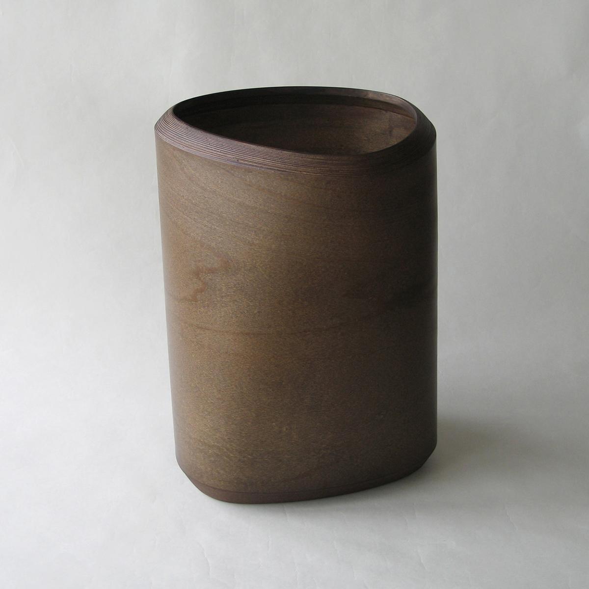 ブナコ INTERIOR GOODS DUST BIN IB-D8116 Dark brown /マルゲリータ