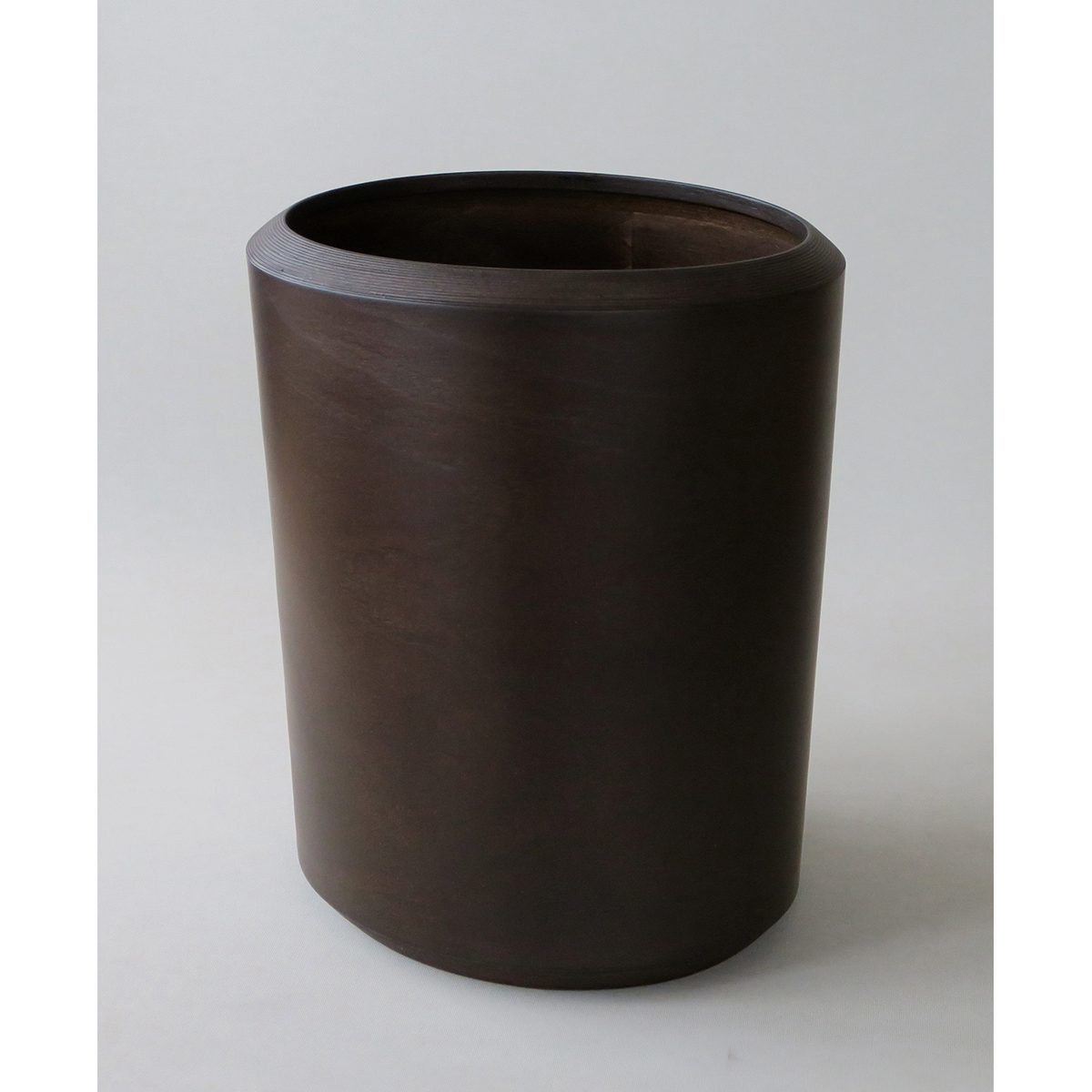 ブナコ INTERIOR GOODS DUST BIN IB-D8316 Dark brown /マルゲリータ